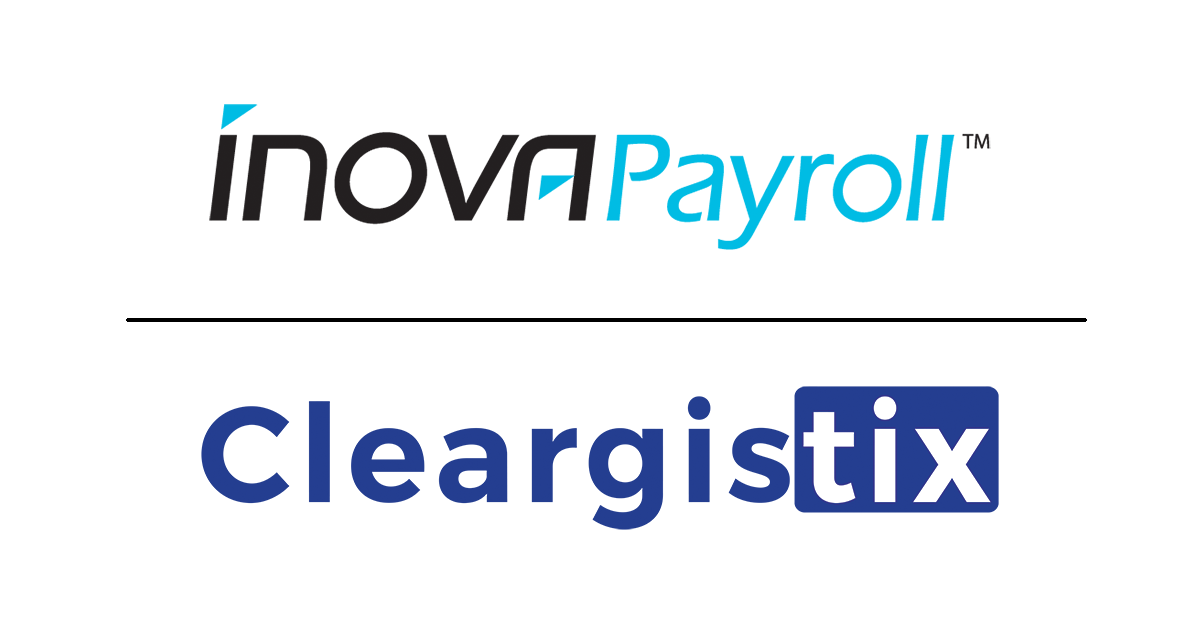 Inova-Payroll-Cleargistix Inova Payroll Partners with Cleargistix to Provide Paperless Human Capital Management, Payroll and Field Operation Tools